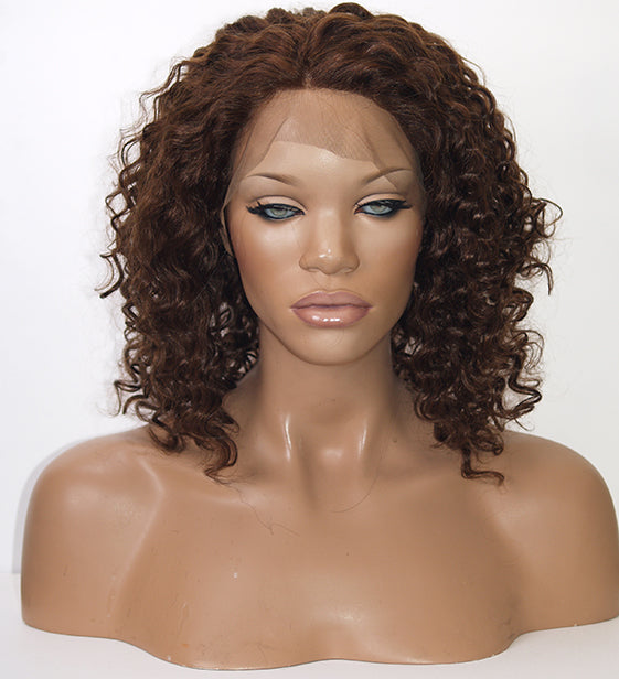 Curly Lace Front Wig | Model Lace Wigs and Hair
