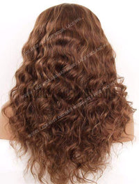 Wavy Full Lace Wig | Model Lace Wigs and Hair