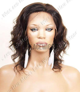 Full Lace Wig (Lesha) Silk-Top