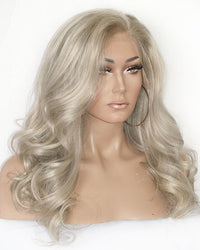 Ash Blonde Full Lace Wig | Model Lace Wigs and Hair