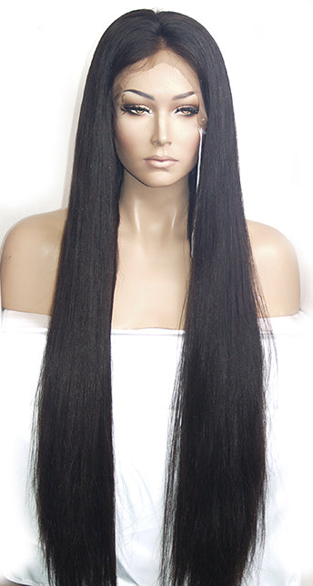 Long Brazilian Full Lace Wig | Model Lace Wigs and Hair