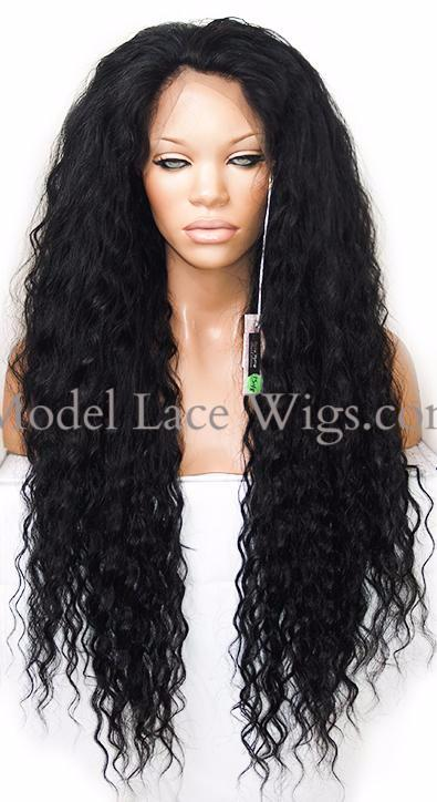 Full Lace Wig (Danica) Item# 1548-Model Lace Wigs and Hair