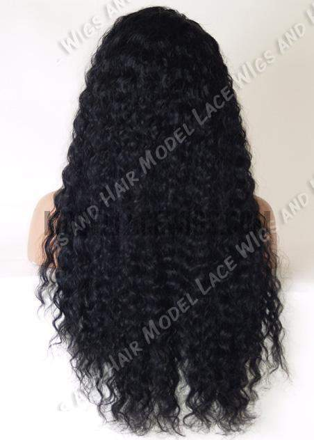 Wavy Jet Black Lace Wig | Model Lace Wigs and Hair
