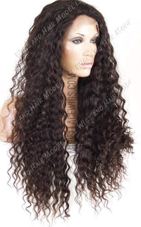 Full Lace Wig (Mika) Item# 3003 • Light Brn Lace