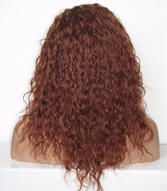 Deepwave Red Full Lace Wig | Model Lace Wigs and Hair