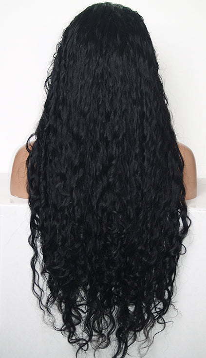Item# 7556 Full Lace Wig (Bellatrix) Custom Order-Model Lace Wigs and Hair