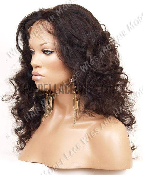Full Lace Wig (Morna) Item#: 580EH HDLW • Transparent Lace