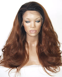 Auburn Lace Front Wig | Model Lace Wigs and Hair