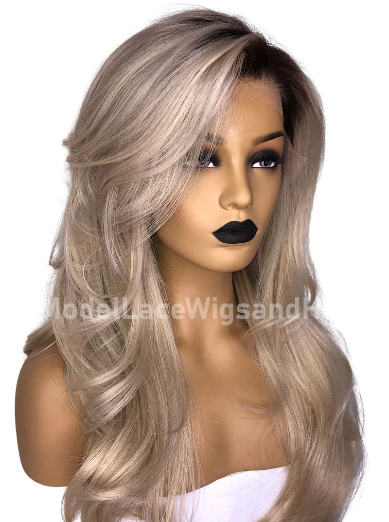 Platinum Blonde Full Lace Wig