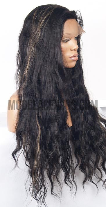 Custom Full Lace Wig (Quinn) Item# 1854 HDLW