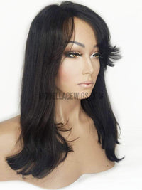IN-STOCK Refurbished Full Lace Wig (Tisha) Item#: R528-Model Lace Wigs and Hair