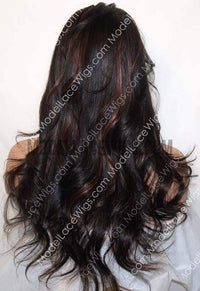Full Lace Wig (Samuela) Item#: 565-Model Lace Wigs and Hair