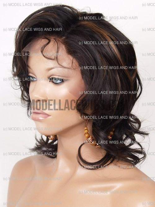 Full Lace Wig (Shauna) Item#: 356-Model Lace Wigs and Hair