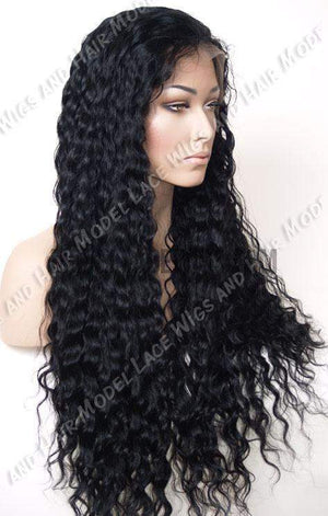 Full Lace Wig (Sheena) Item#: 8886-Model Lace Wigs and Hair