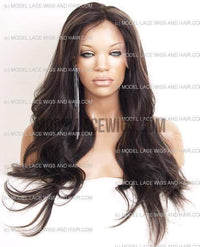 Full Lace Wig (Sherrie) Item#: 541-Model Lace Wigs and Hair