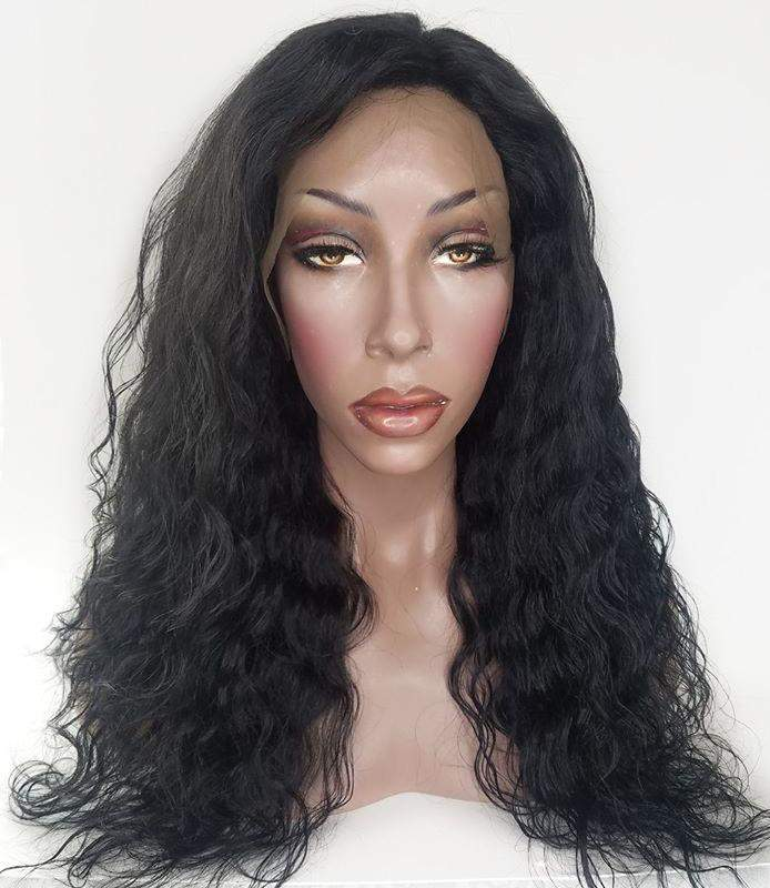 wavey lace front wig