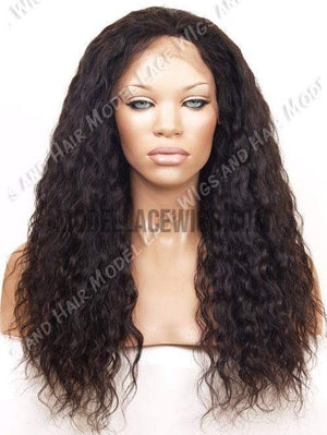 Brazilian Wavy Full Lace Wig | Model Lace Wigs and Hair