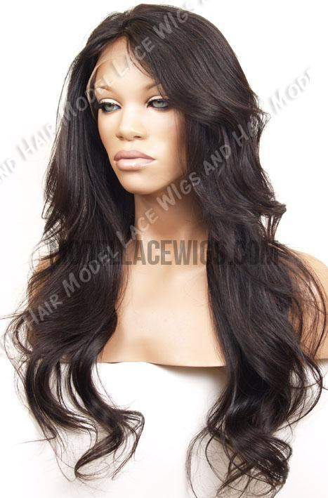 Full Lace Wig (Vania) Item# 589 • Light Brn Lace