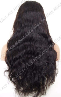 Full Lace Wig (Varuni) Item#: 295-Model Lace Wigs and Hair