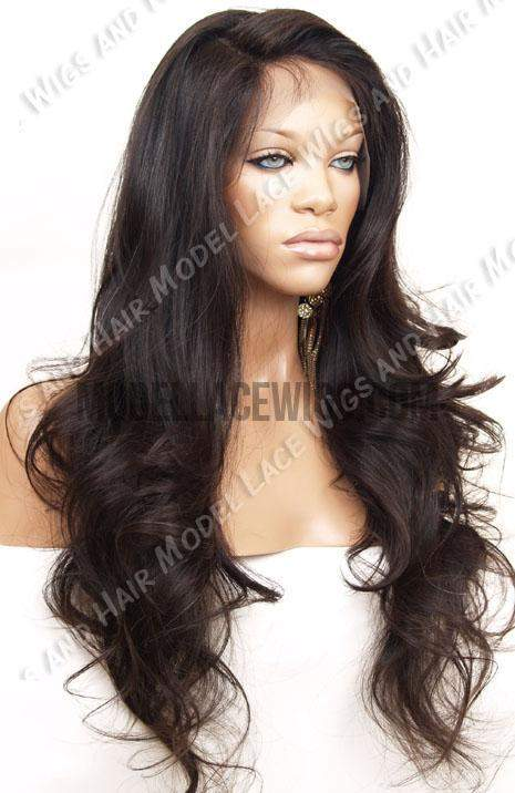 Full Lace Wig (Verina) Item# 911 • Light Brn Lace