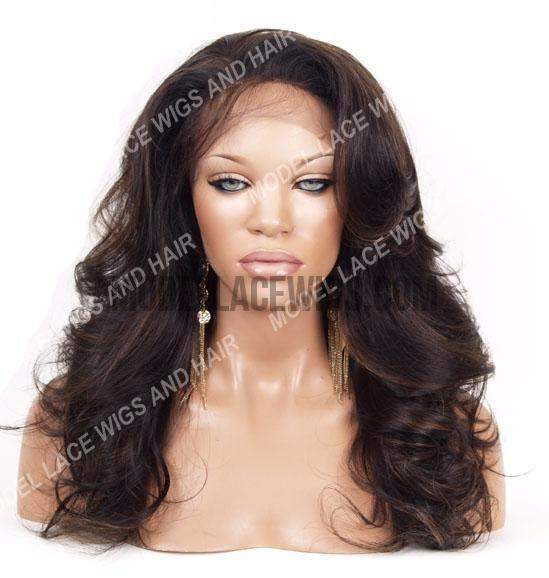 Glueless Full Lace Wig (Zarah) Item#: G561