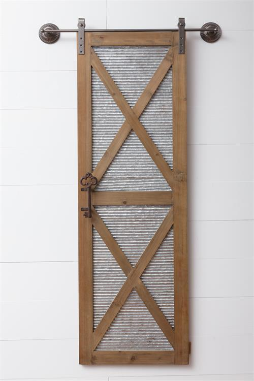 Buy Wall Plaques And Signs| Sliding Barn Door Wall Plaque At Liliana Skye