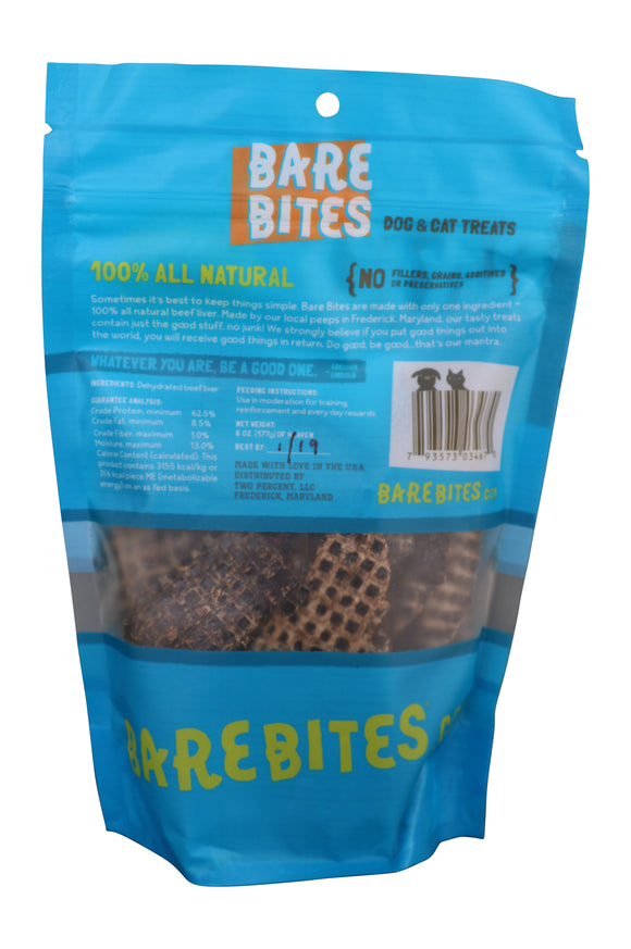 Grain Free Beef Liver Treats for Dogs & Cats