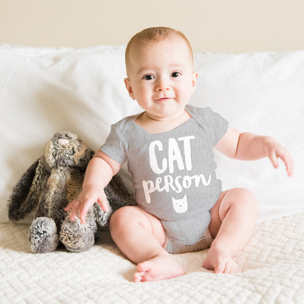 Baby Onesie - Baby Gift for Cat Lover