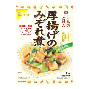 kikkoman Uchi no Gohan Semi Made Sauce for Deep-fried Tofu Mizore-ni style キッコーマン うちのごはん 厚揚げのみぞれ煮110g