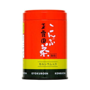 Konbu cha (Tea made of powdered kelp) 45g  玉露園 こんぶ茶 45g