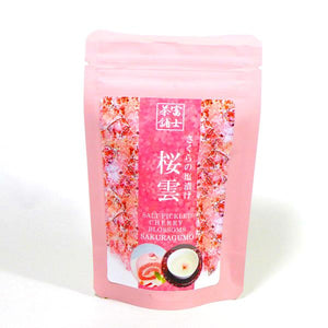 Salt Pickled Cherry Brossoms SAKURAGUMO 30g さくらの塩漬け 桜雲 30g