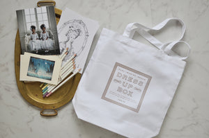DRESS UP BOX TOTE
