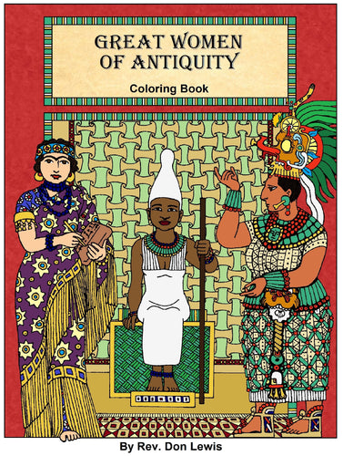 Great Women of Antiquity (Coloring eBook)