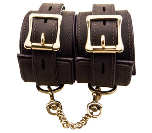 BOUND Nubuck Leather Wrist Restraints