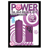 Power Slim Bullet 10 Function Remote Control