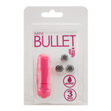 Loving Joy 3 Speed Mini Bullet Vibrator - Pink