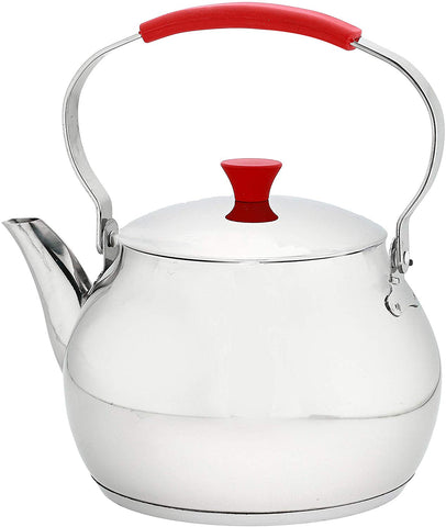 Econat TH-2 Stainless Steel Tea Kettle, 68 oz / 2000 ml