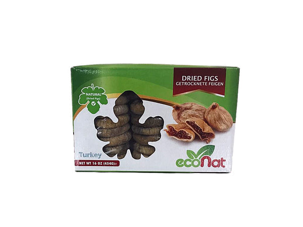 Econat Dried Turkish Figs, 16 oz (8 pcs)