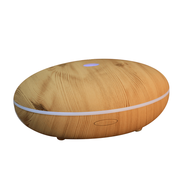 Econat 400 ml Cool Mist Humidifier Ultrasonic Essential Oil Diffuser for Office, Home, Yoga, Spa - Wood Grain