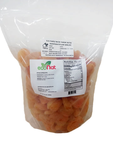 Econat Dried Turkish Apricots, 53 oz (2 pcs)
