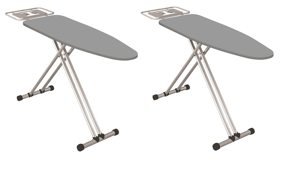 Econat Extra Wide Adjustable Height Ironing Board - Bulk (2 units)