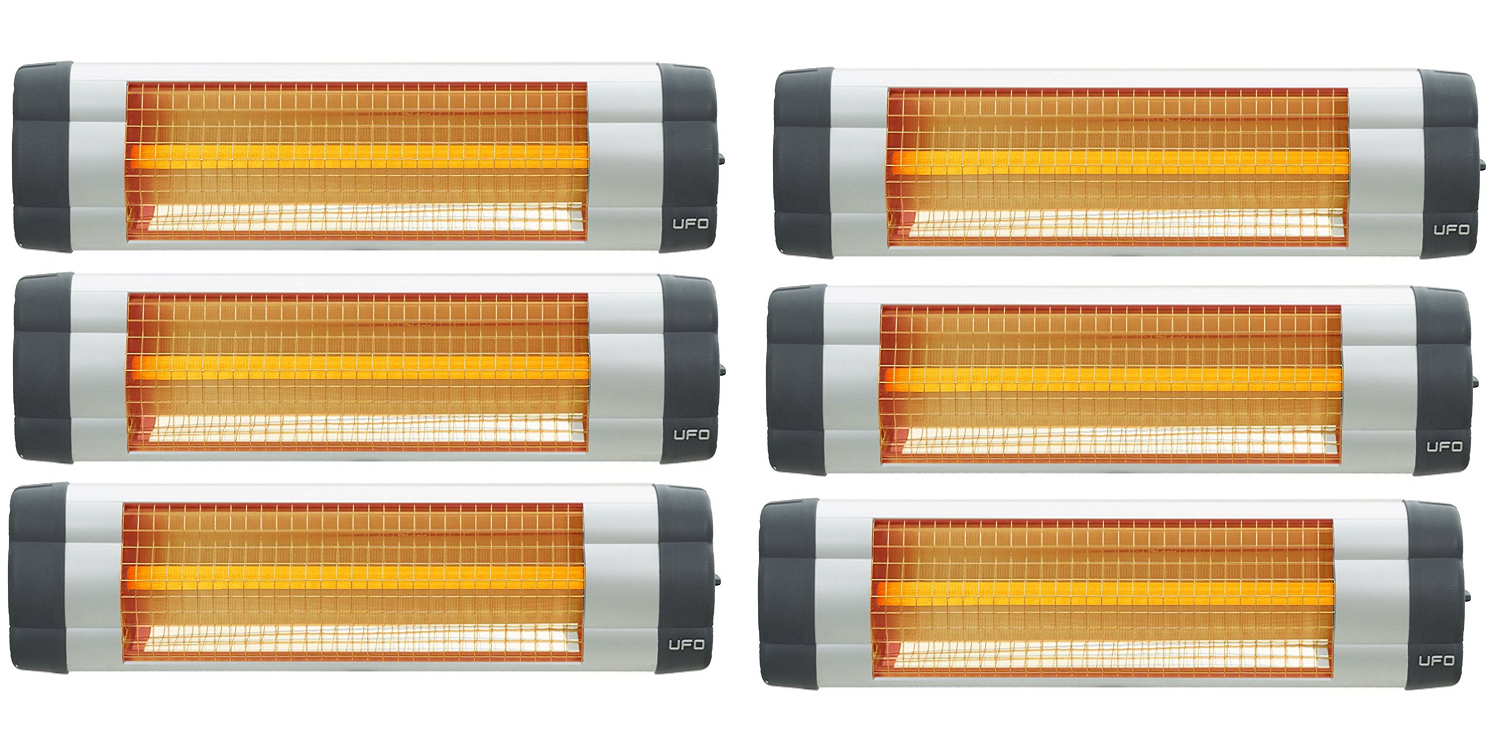 UFO S-15 Electric Infrared Heater - Bulk (6 units)