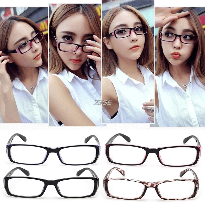 Unisex Frame Frame Eyeglasses Vintage Spectacles Optical Clear Lense - astore.in