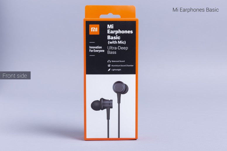 Original Xiaomi Mi Earphone 3.5mm In-ear with HD Mic - astore.in