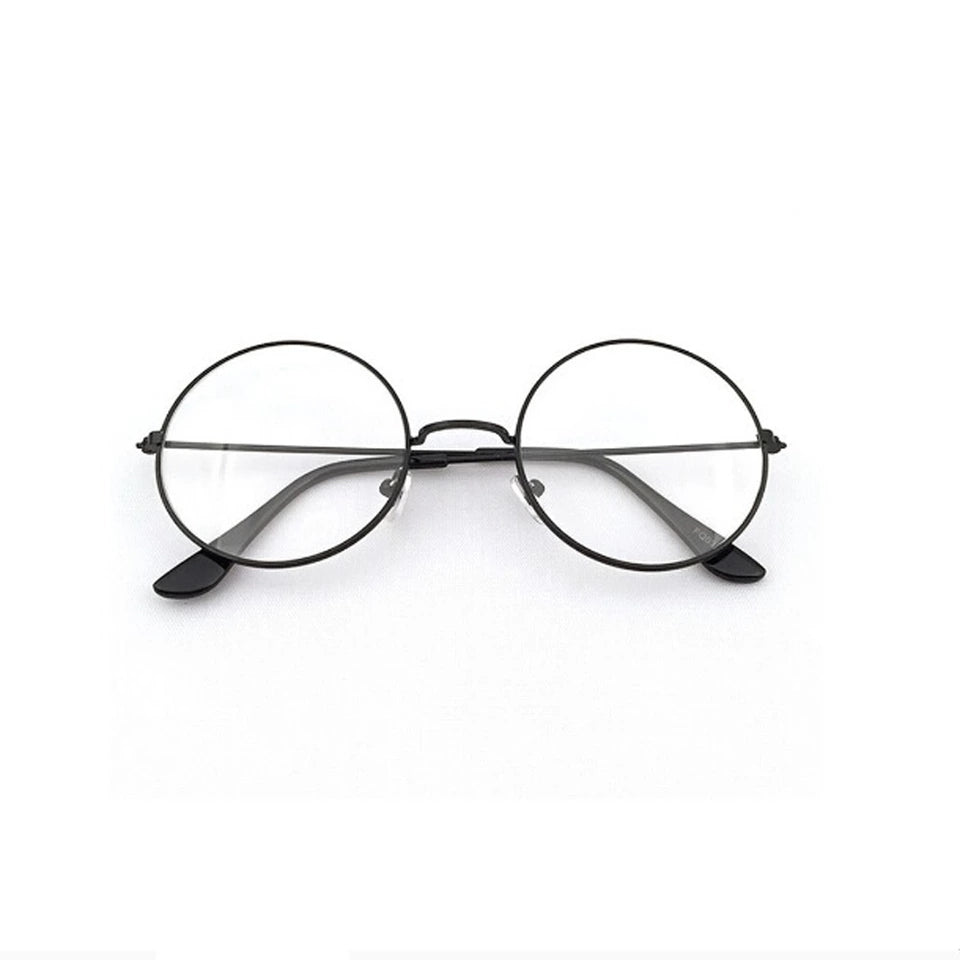 Retro Metal Round Frame Spectacles Eyeglass - astore.in