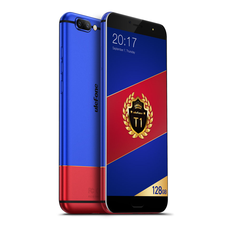 Ulefone T1 6 GB RAM 128 GB ROM FHD mobile phone Android 7.0 Octa Core fingerprint 4G Global Smartphone - astore.in