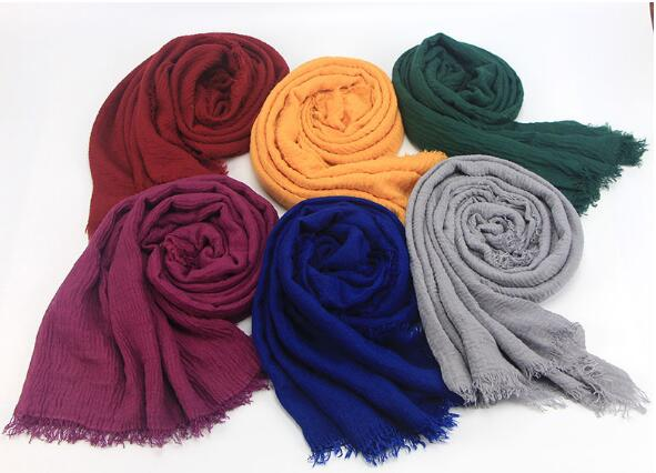 Imported Crinkled Hijab for Women