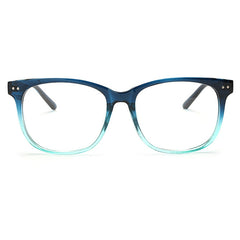Men/ Women Vintage Glasses Round Large Optical Frame Unisex Eyeglass Clear Lens - astore.in