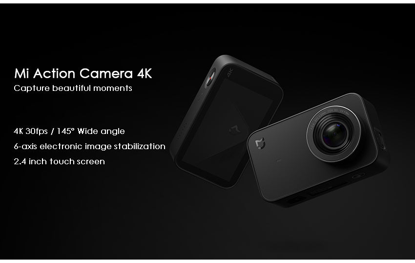 Xiaomi Mi Mijia Action camera 4K /30FPS International version - astore.in