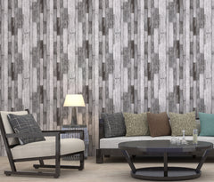 Retro Wood Design Wallpaper Roll - astore.in